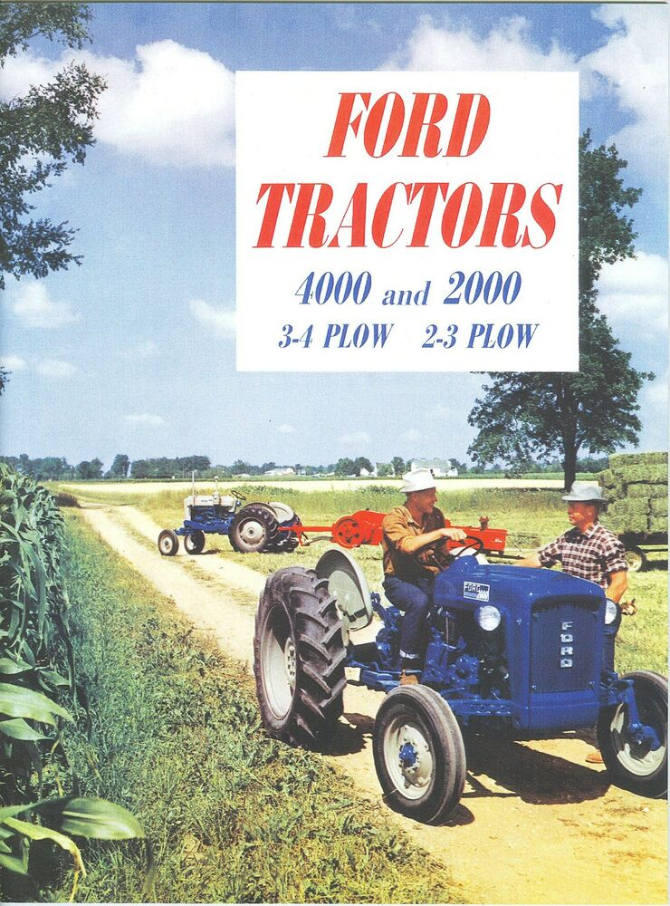Ford 4000 Plow : Ford tractor plow sales