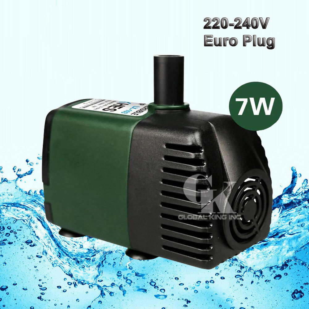 220V, 750L  H Submersible Pump Aquarium Fish Tank Fountain Water Hydroponic   eBay