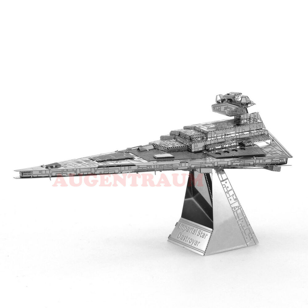 imperial star destroyer star wars metal earth 3d metall bausatz mms254 neu ebay. Black Bedroom Furniture Sets. Home Design Ideas