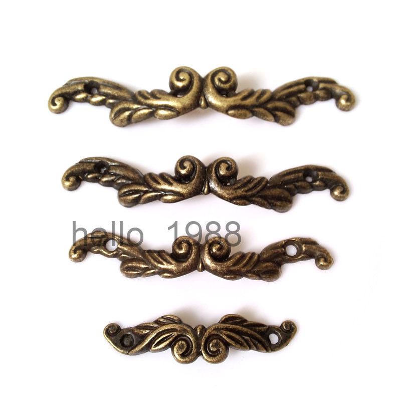 10pcs antique drawer pull jewelry box handle little box