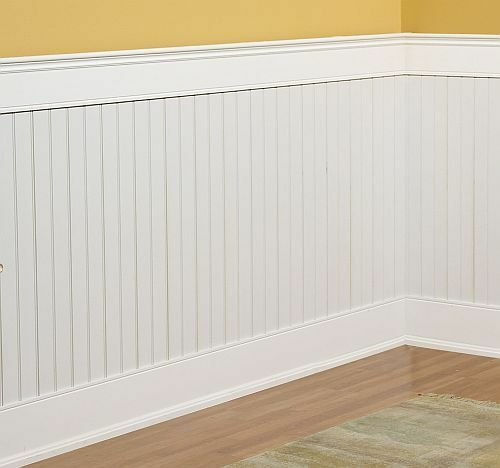 beadboard wainscoting kit 4x8 feet ebay. Black Bedroom Furniture Sets. Home Design Ideas