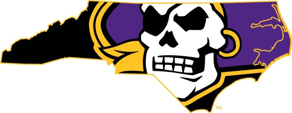 East Carolina Pirates 4 Ncaa College Vinyl Decal Sticker