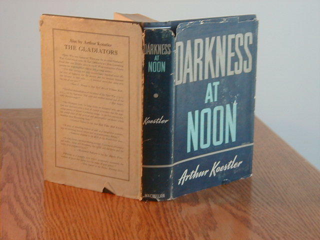 darkness at noon by harold krents thesis Mid-term english description my exists in an essay when all ideas originate from and help support a central thesis statement darkness at noon by harold krents.