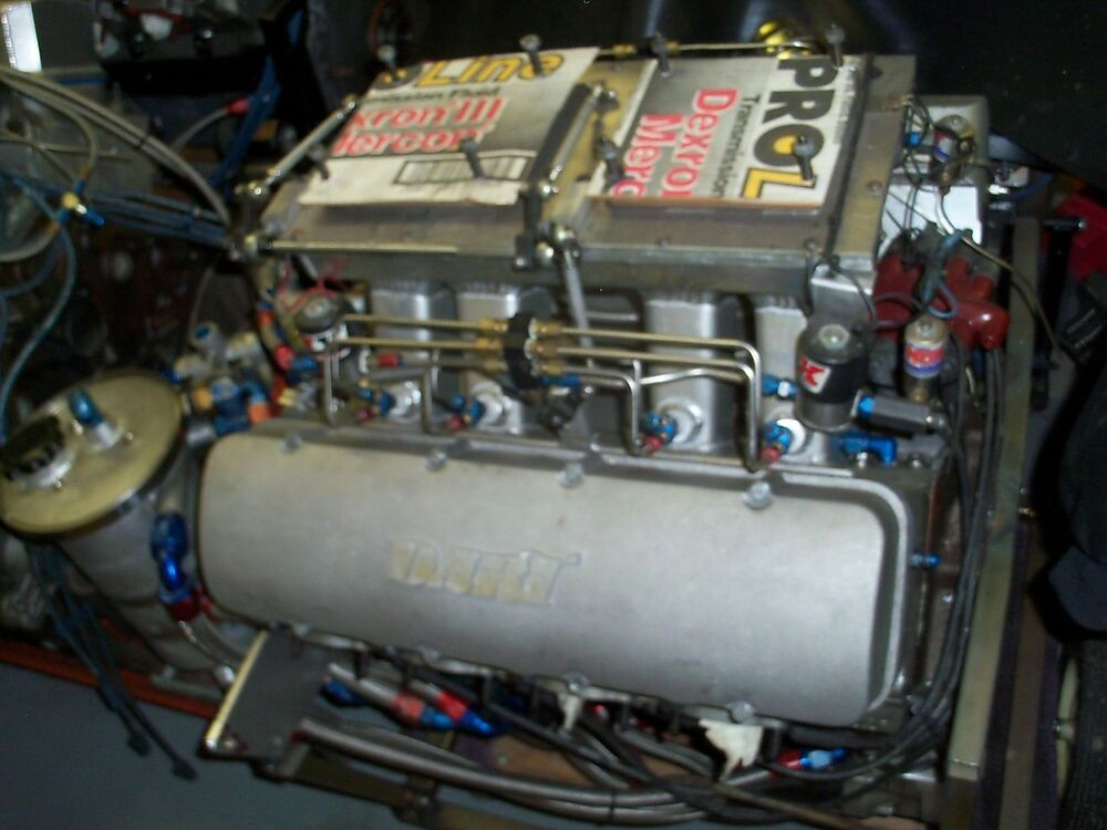 632 Cu In Bb Chevy Drag Race Motor Complete Engine Jesel