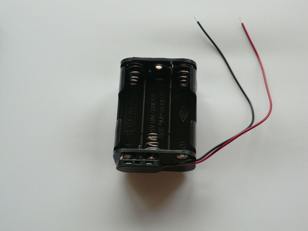 9 volt power supply 3x2fat 6x aa 9v battery holder pp3 connector cable ebay. Black Bedroom Furniture Sets. Home Design Ideas