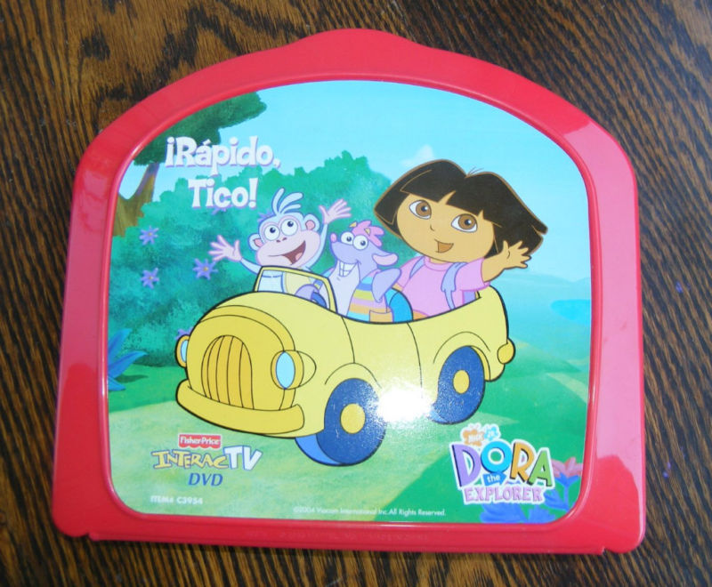 Dora The Explorer Tico InteracTV DVD Fisher Price | eBay