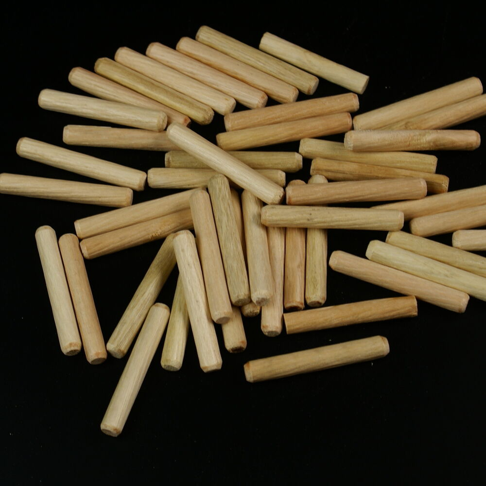 1 4 x 1 1 2 grooved fluted wood dowels pins ebay for Wooden dowels for crafts