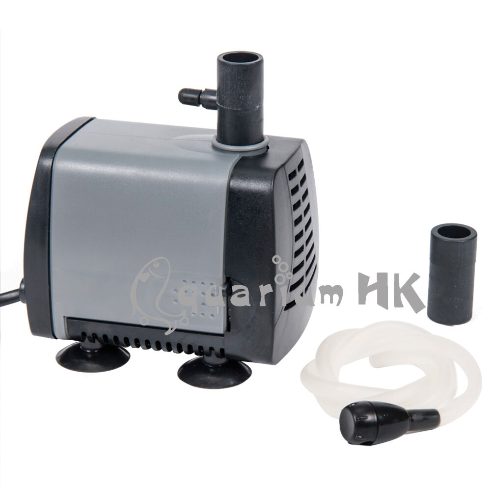 Atman submersible aquarium fountain water pump air tubing for Small water fountain pump