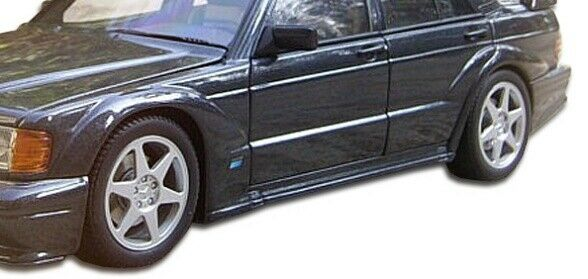 mercedes w201 evo 2 wide body fender flares 6 pc for. Black Bedroom Furniture Sets. Home Design Ideas
