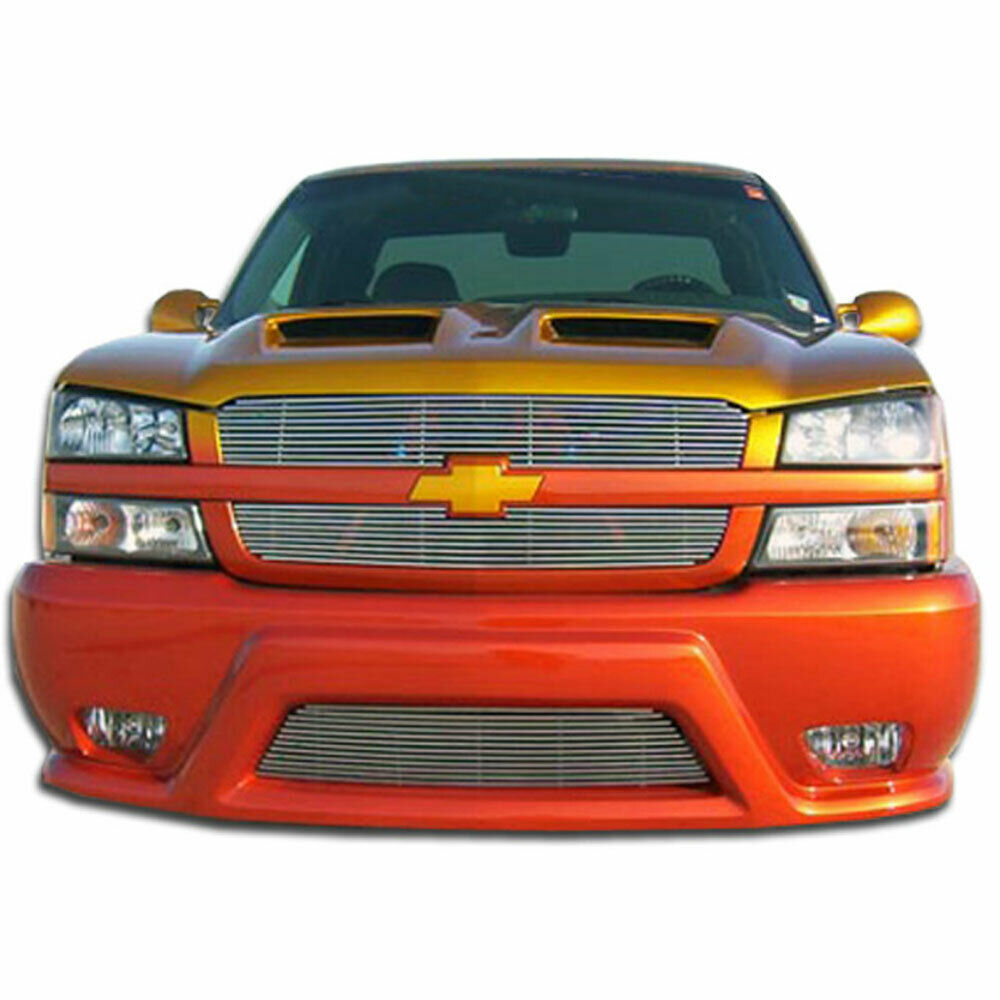 03 Chevy Front Bumpers : Silverado platinum front bumper b for chevrolet avalanche