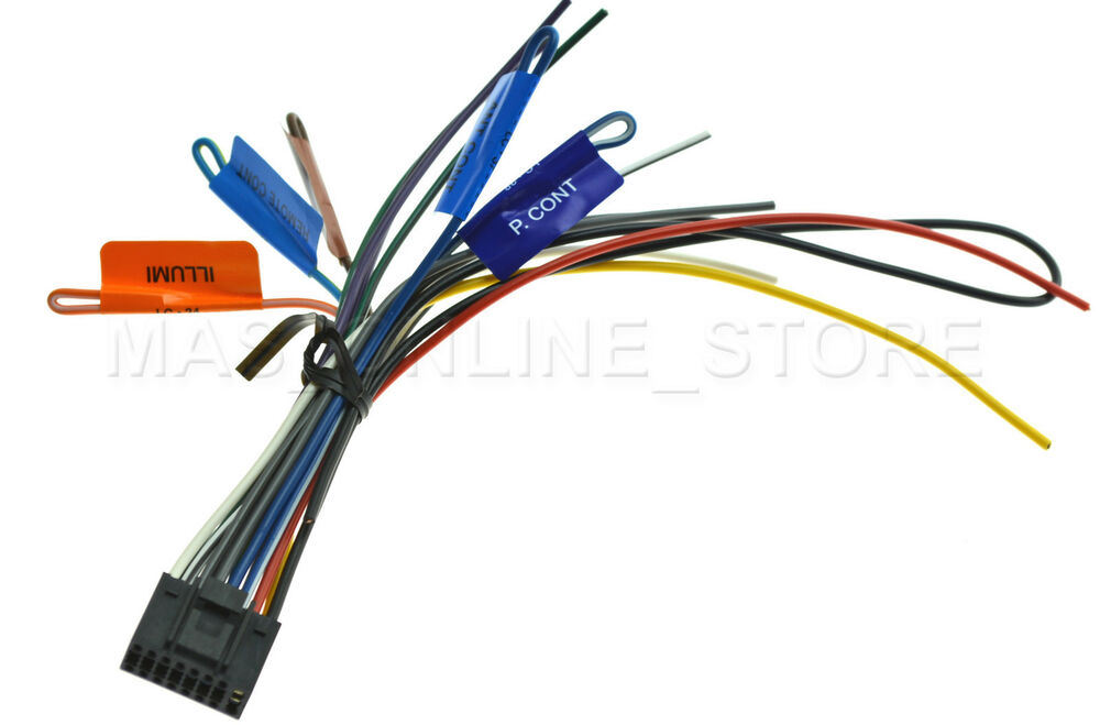 s l1000 kenwood dnx 572bh dnx572bh genuine wire harness *ships today* ebay kenwood dnx572bh wiring diagram at gsmx.co