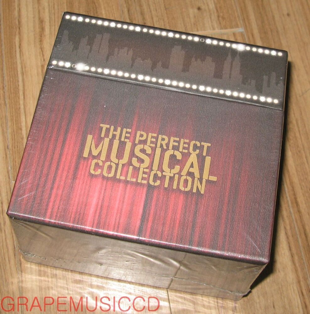 the perfect musical collection lp miniature 22 cd box set guys and dolls ebay. Black Bedroom Furniture Sets. Home Design Ideas