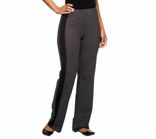 Women with Control Regular Hollywood Waist Tuxedo Pants ...