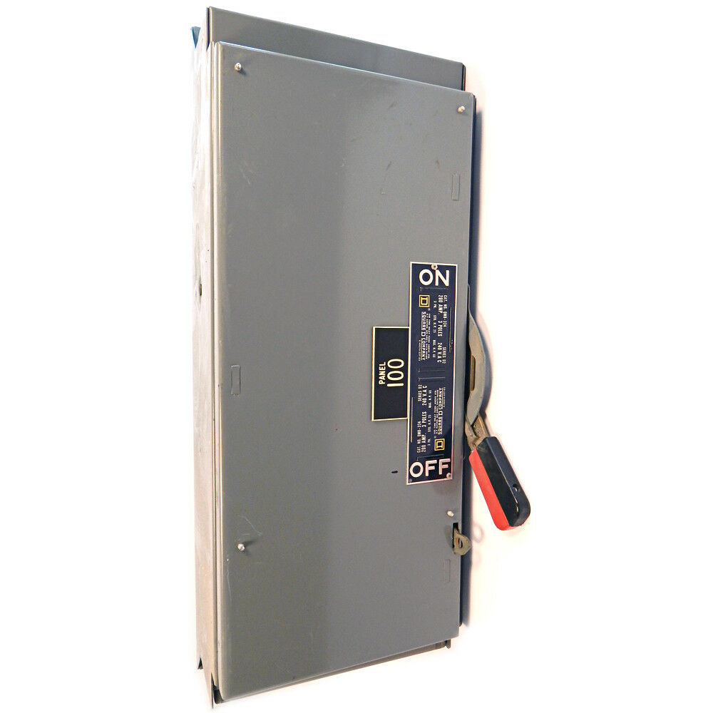 200 amp panel square d 200 amp fused panel board switch enclosure 3 pole 28633