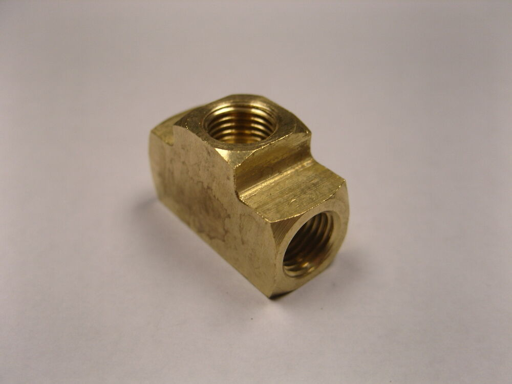 Brass fittings inverted flare union tee quot qty ebay