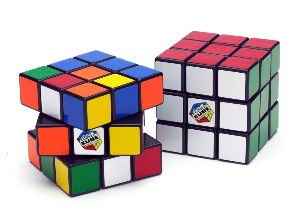 real original rubik 39 s cube 3x3 new in package with base. Black Bedroom Furniture Sets. Home Design Ideas