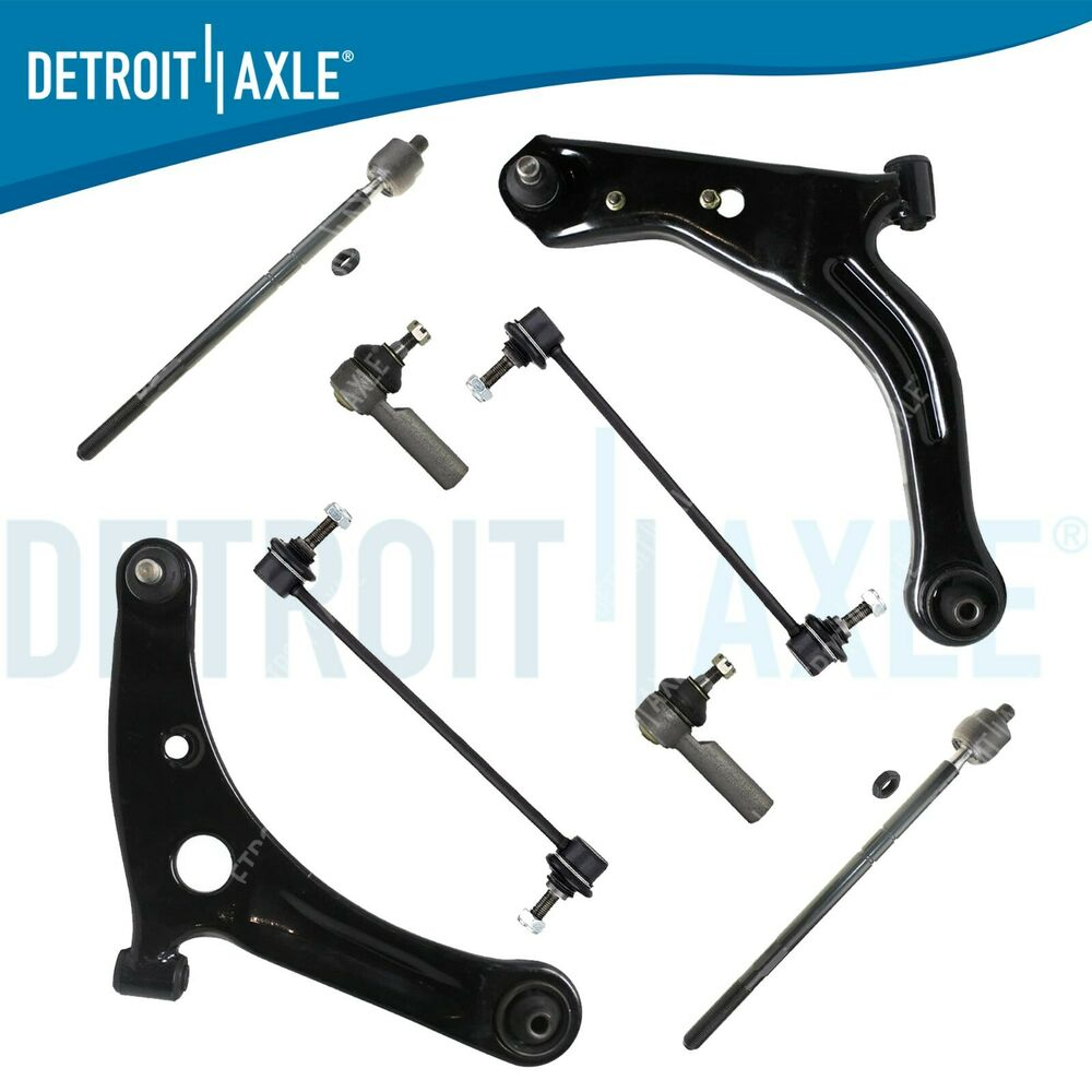 Front Suspension: Brand New 8pc Complete Front Suspension Kit For Ford