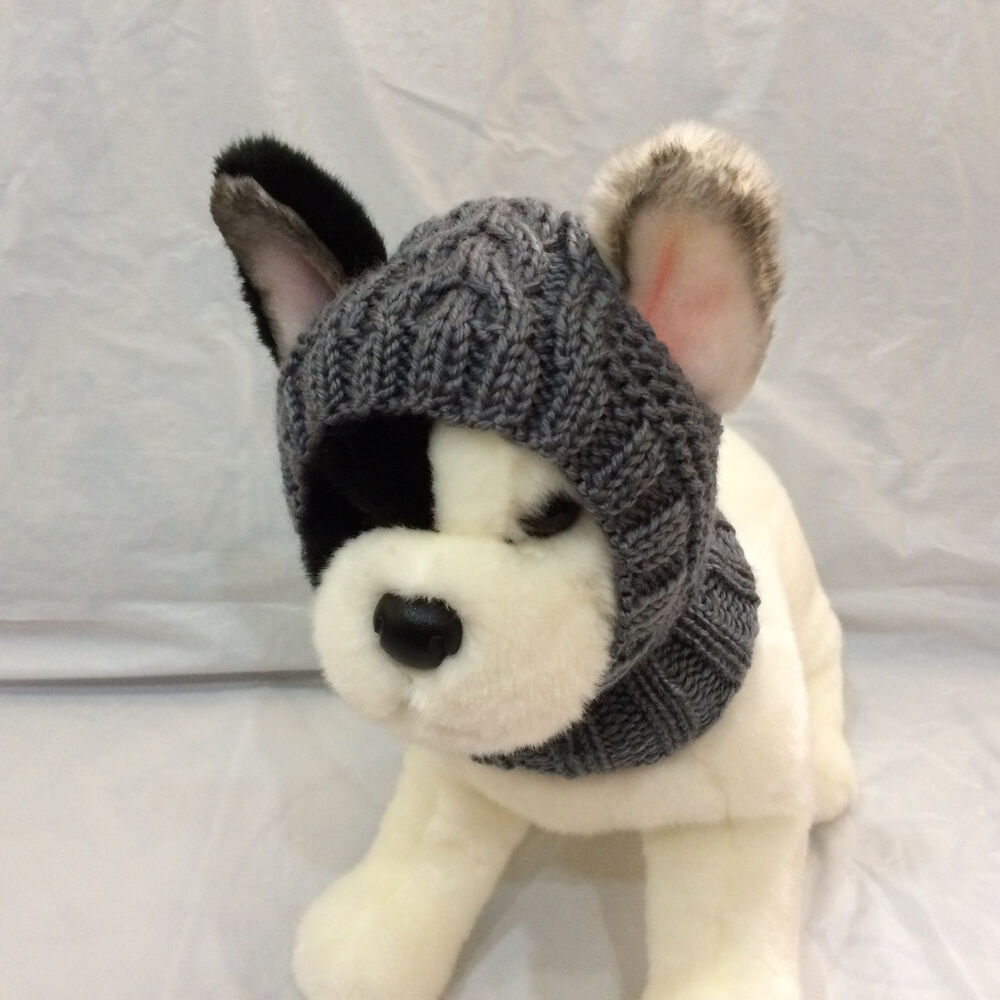 Pet Clothes Apparel Outfit Handmade Knit Hoody Snow-Hat for Small Dog eBay