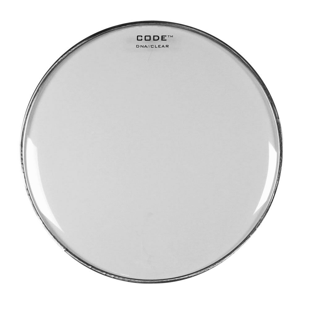 code dna clear single ply tom drum head 6 8 10 12 13 14 15 16 18 set ebay. Black Bedroom Furniture Sets. Home Design Ideas