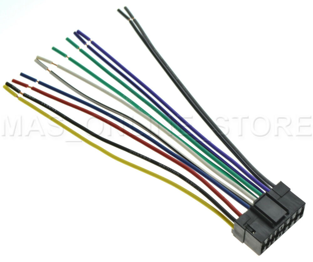 wire harness for jvc kd s24 kds24 pay today ships today. Black Bedroom Furniture Sets. Home Design Ideas