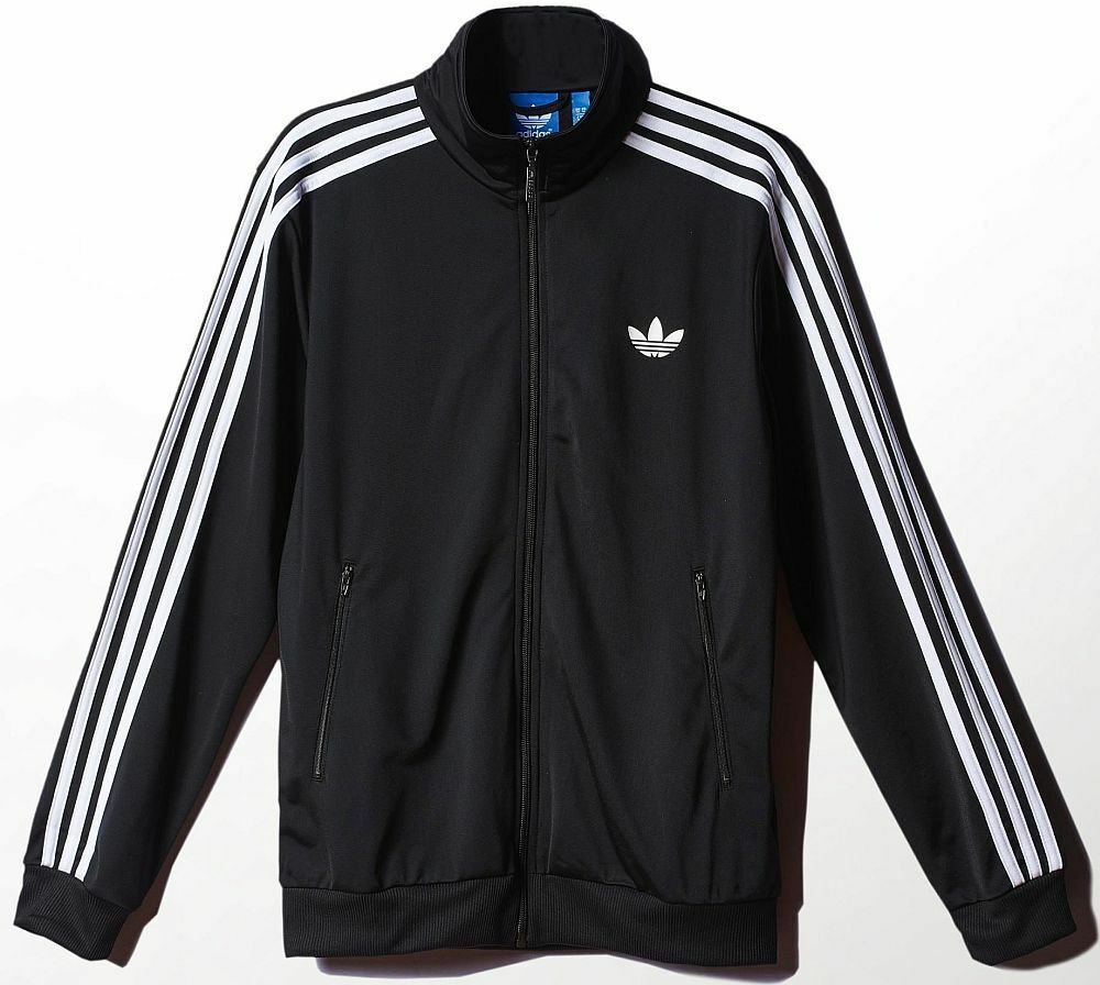 adidas superstar street track top jacket black white. Black Bedroom Furniture Sets. Home Design Ideas