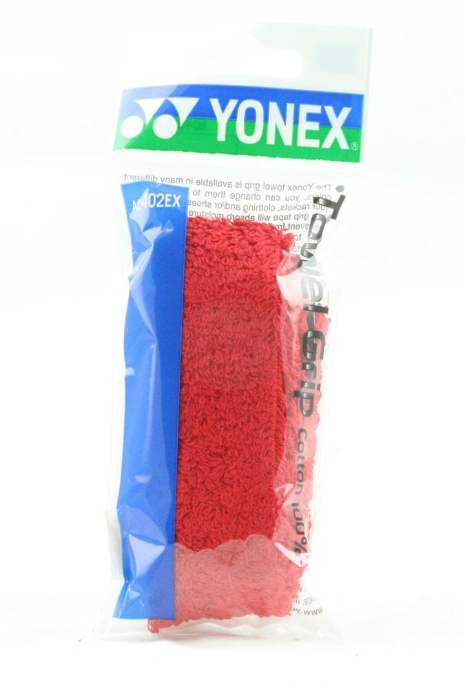 Orange Yonex AC402EX Towel Grip 2 Grips Included