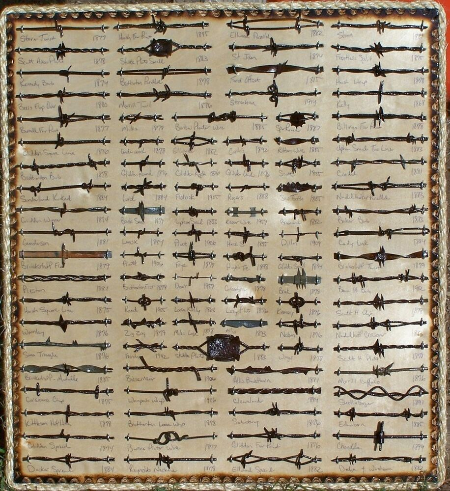 Large antique barbed wire display cut s of ebay