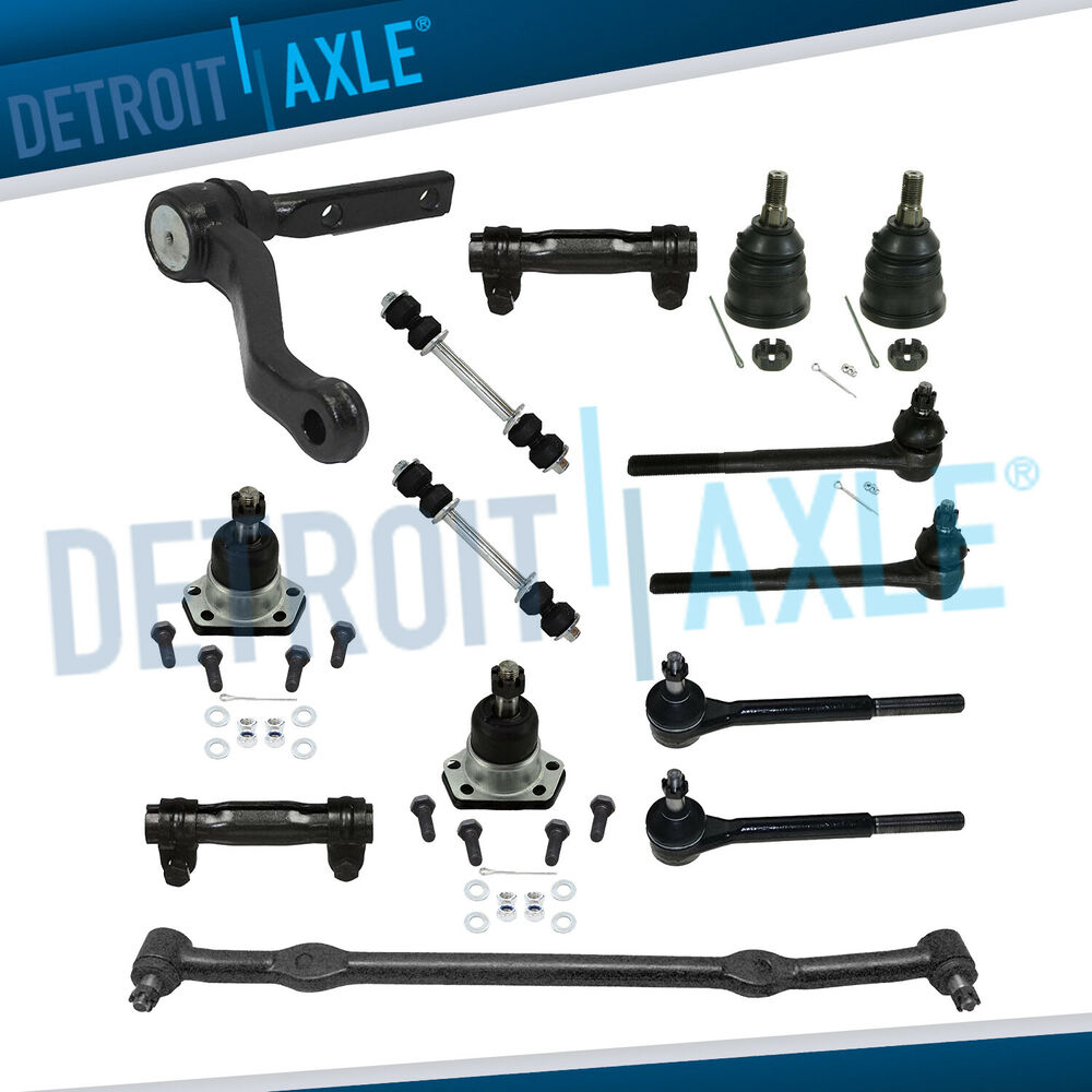 Front Suspension: Brand NEW 14pc Complete Front Suspension Kit Buick Chevy