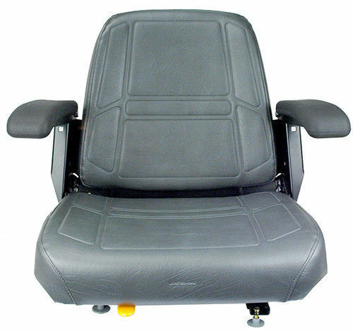 Bobcat Seat Replacement : Charcoal gray seat bunton bobcat dixie snapper toro
