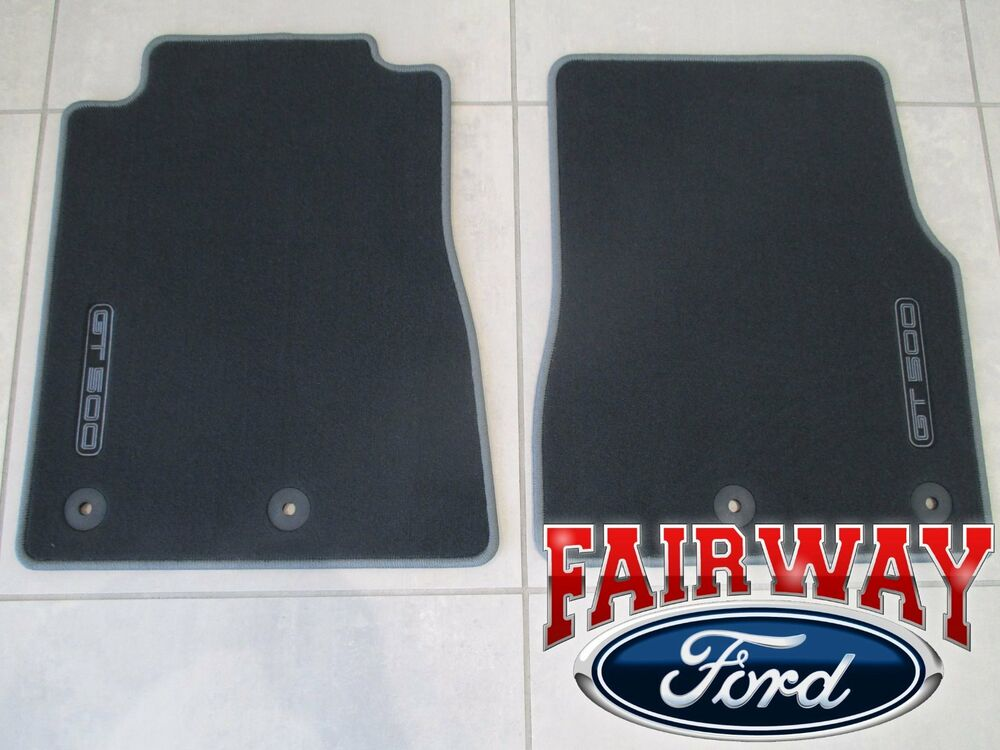 13 Thru 14 Mustang Oem Genuine Ford Black Carpeted Floor