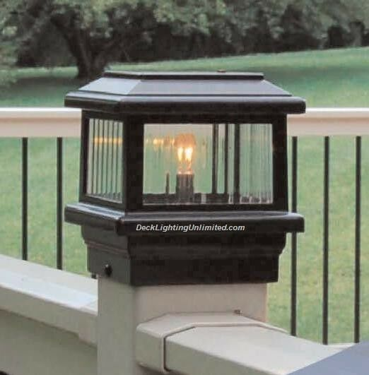 Aurora Titan Deck Post Light 12v Low Voltage 1 6w Led Choose Size Amp Color Ebay