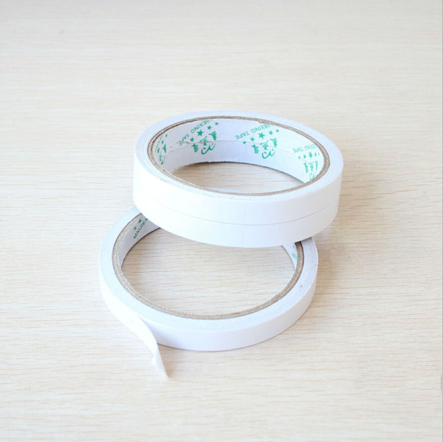 How To Use Double Sided Tape For Crafts