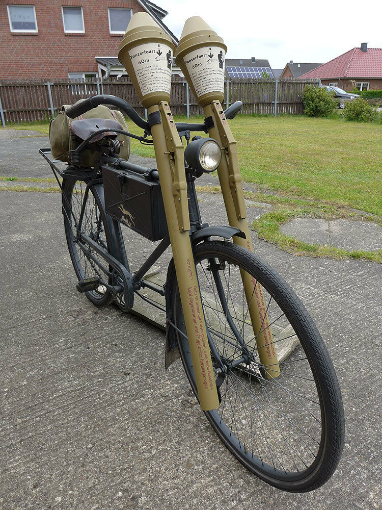 wehrmacht truppenfahrrad dienst fahrrad lenker halter halterung f panzerfaust ebay. Black Bedroom Furniture Sets. Home Design Ideas
