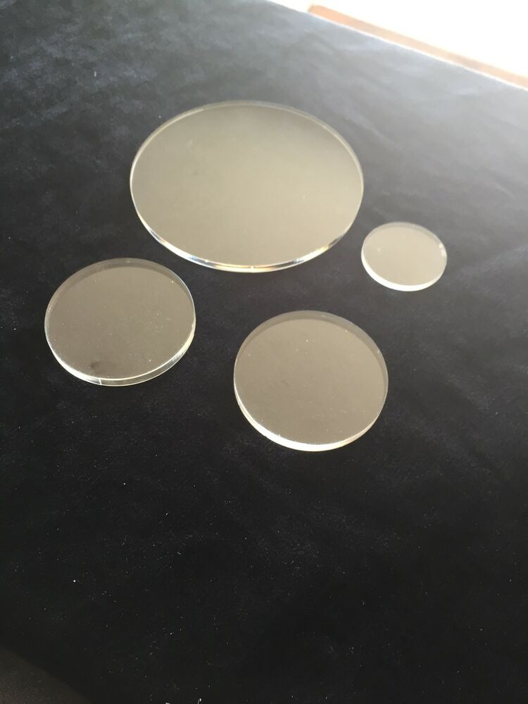 clear perspex acrylic circle round disc 2mm 3mm 4mm 5mm 6mm 8mm 10mm ebay. Black Bedroom Furniture Sets. Home Design Ideas