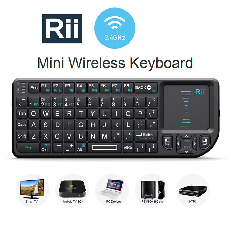 Freedom Pro Bluetooth Keyboard Android Driver: Rii X1 Mini Wireless Keyboard + Mouse Touchpad For PC Android TV Box Smart TV