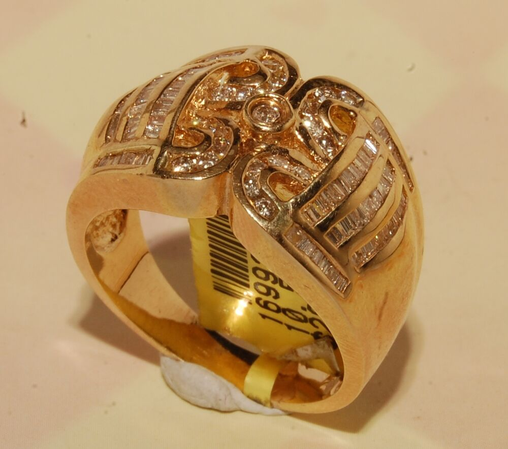 and 14k gold mens ring jewelry brand new ebay
