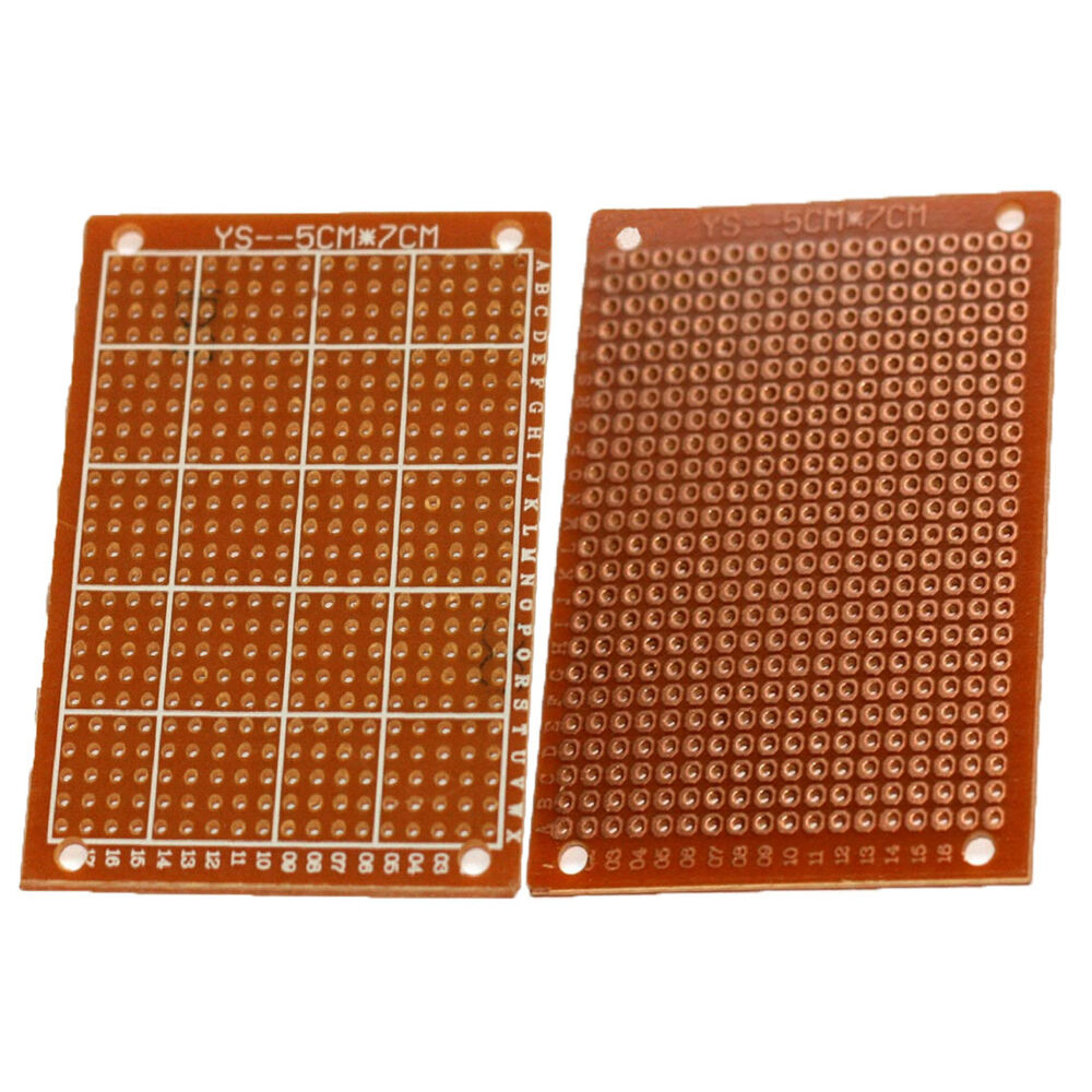 1x Up 9x15cm Pcb Prototype Circuit Board Breadboard Double Side Fr4