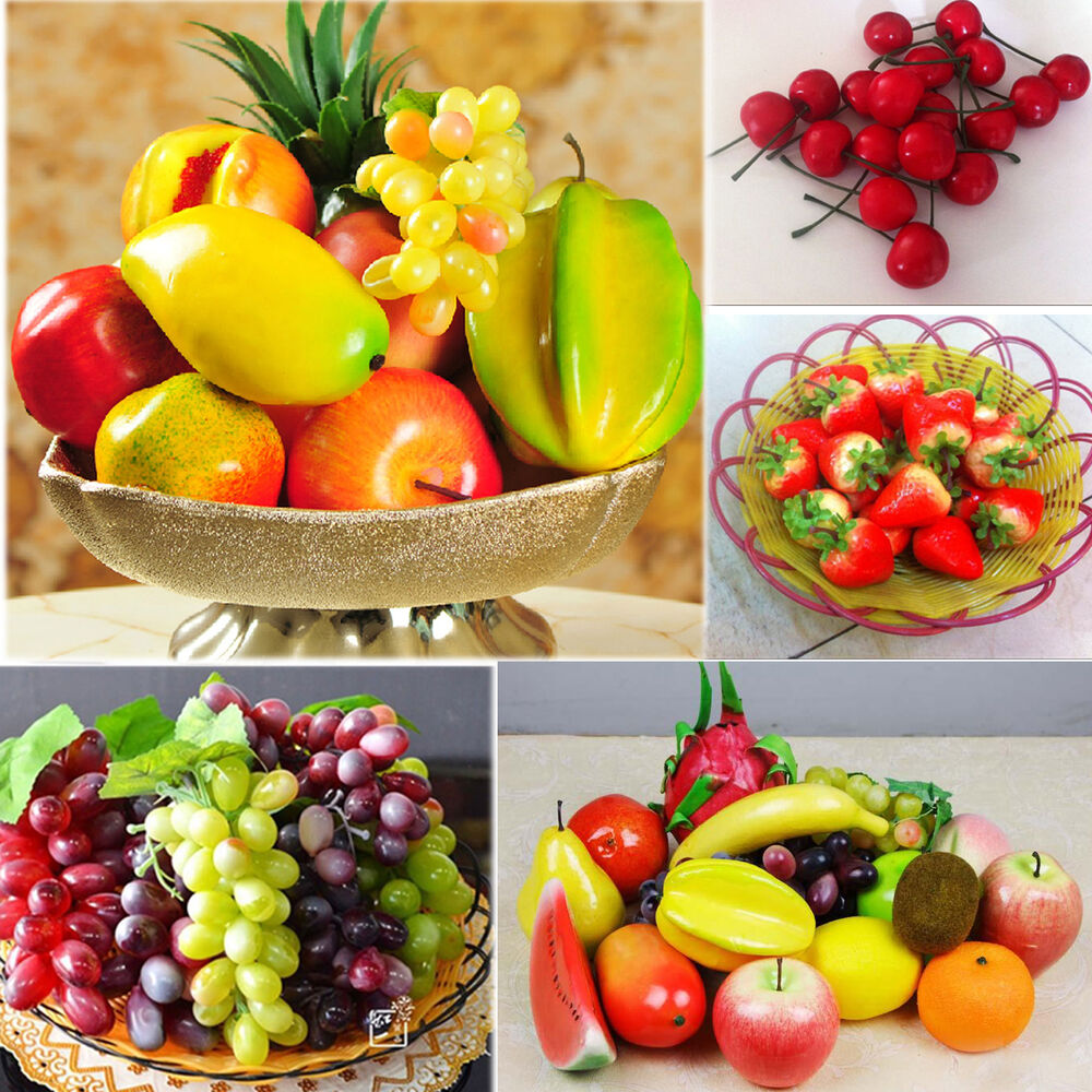 Be lifelike artificial decorative plastic fruit home decor for Apples decoration
