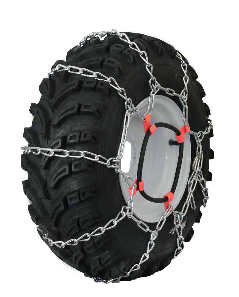 how to put chains on turf tires