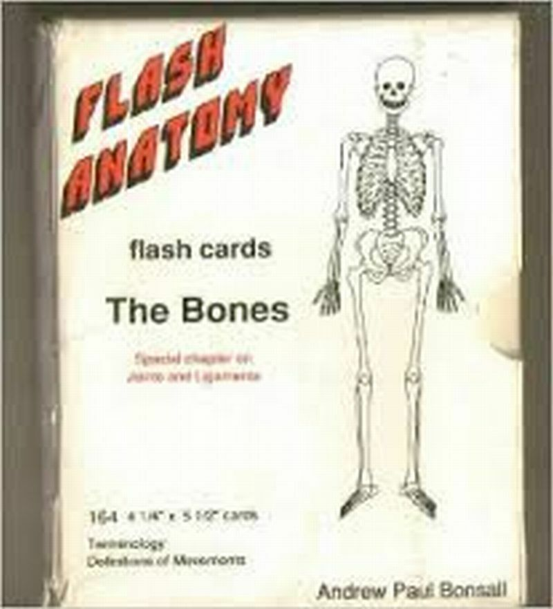 Flash Anatomy The Bones Flash Cards Terminology, Movement ...