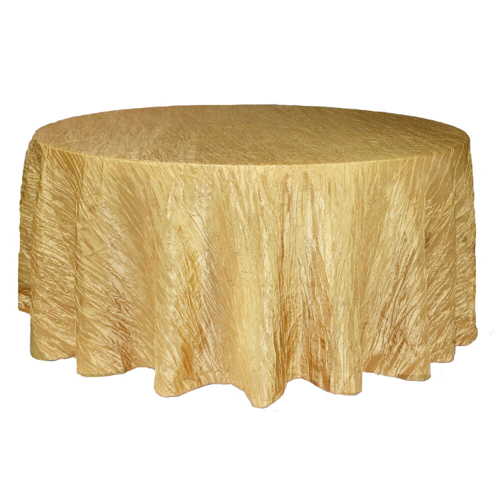 Your Chair Covers 132 Inch Round Crinkle Taffeta  : s l1000 from www.ebay.com size 1000 x 645 jpeg 110kB