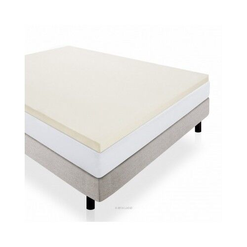 Foam mattress pad topper twin xl queen full king california matress memory layer ebay Memory foam mattress topper twin