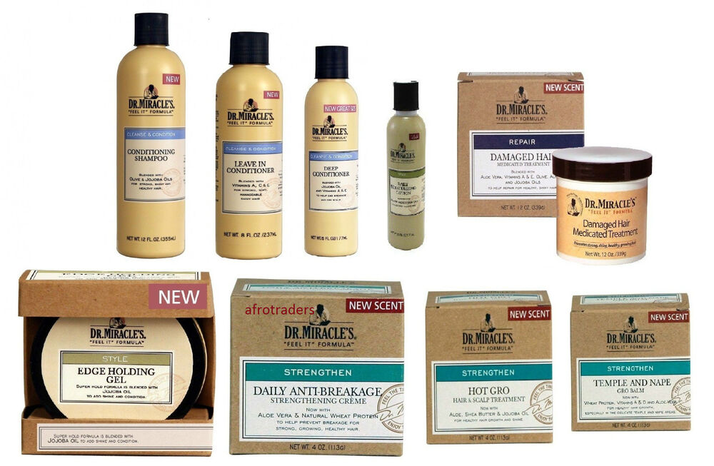 Dr Miracle's Hair Care Styling products (All available)   eBay