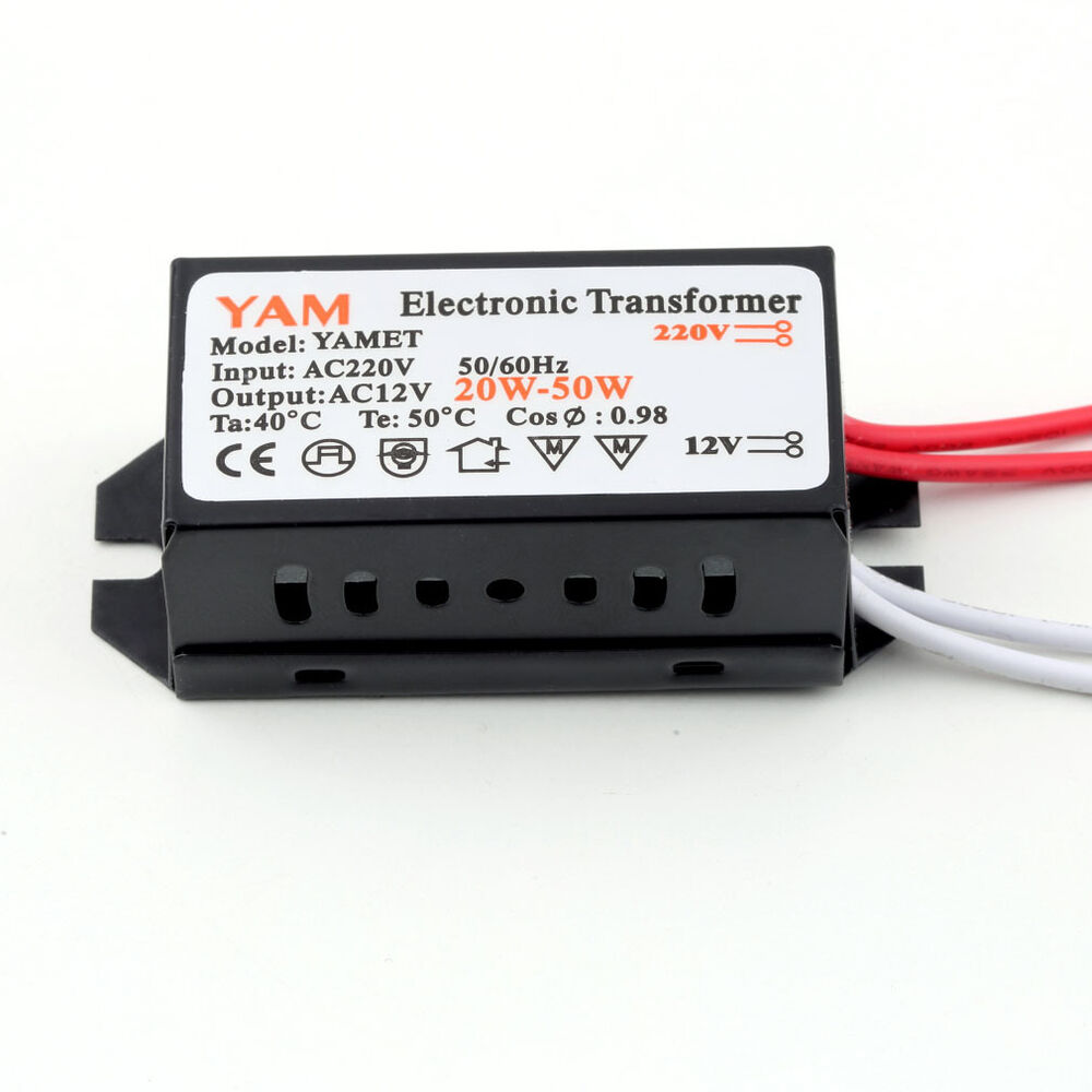 ac 220v to 12v 20w halogen lamp electronic transformer led driver driver lo ebay. Black Bedroom Furniture Sets. Home Design Ideas