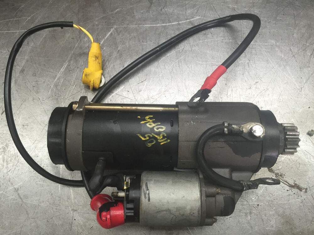 2005 mercury optimax 115 hp 2 stroke outboard starter for Boat motors for sale mn