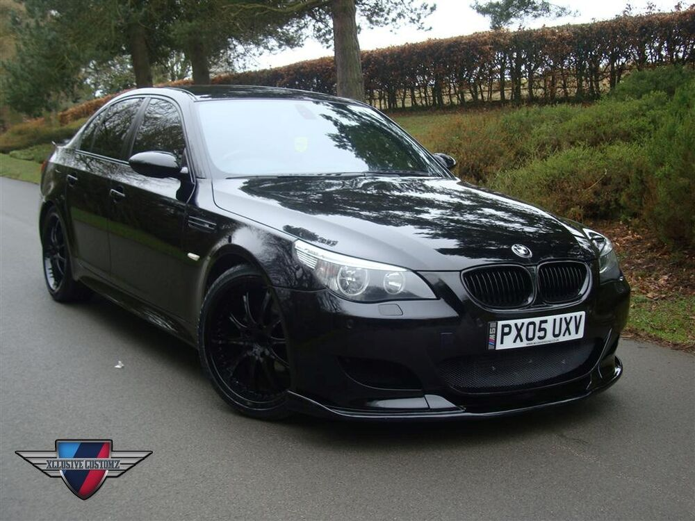 bmw m5 e60 full body kit for bmw 5 series e60 ebay. Black Bedroom Furniture Sets. Home Design Ideas