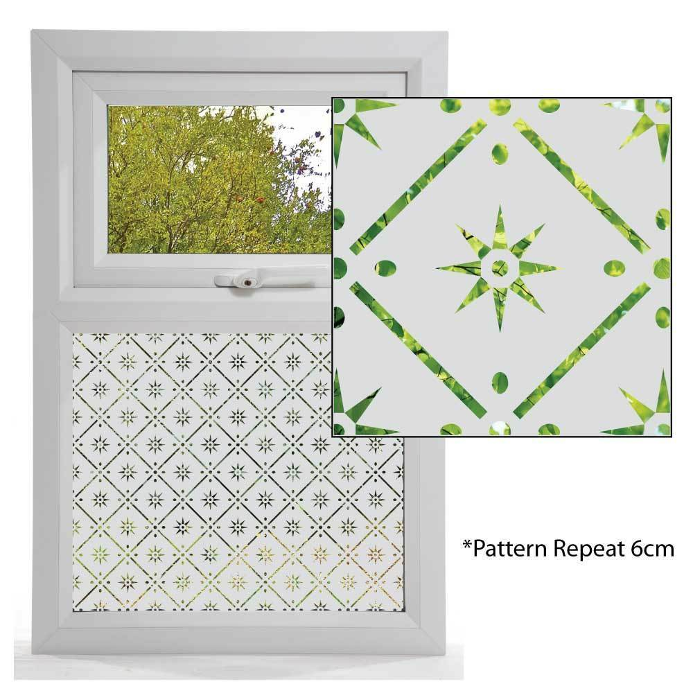 Etched glass effect window film victorian styles window for Window glass styles