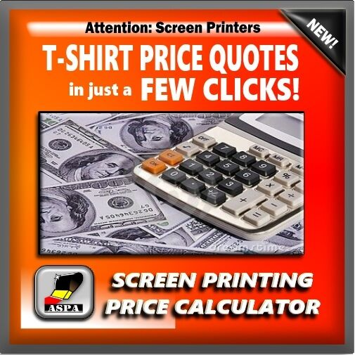 T shirt printing price calculator digital download ebay for T shirt printing price list