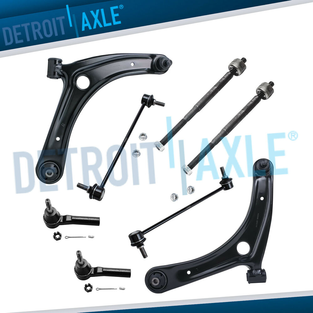 Front Suspension: Brand New 8pc Complete Front Suspension Kit For 2007-2008