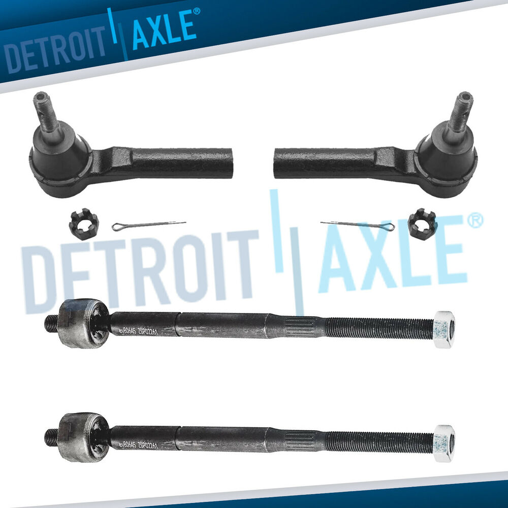 2007 Jeep Compass Suspension: Brand New 4pc Front Suspension Tie Rod Ends